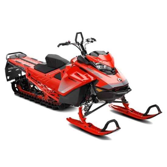 Ski-Doo Summit X 165 850 E-TEC ICE Red Dshot-Manual 2019