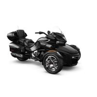 Can-Am Spyder F3 Limited SE6 Steel Black Metallic Chrome 2019